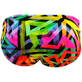Turbo Neon Fluo Brief Herre yellow